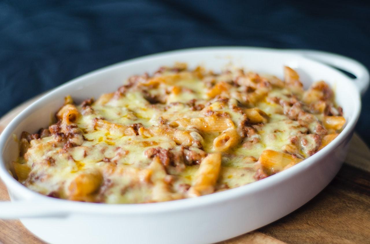 Lasagna mac'n'cheese