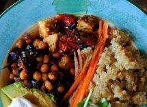 melanzane arrostite e pomodoro al curry