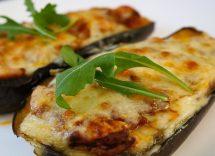 melanzane ripiene con mozzarella