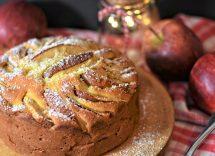 pan di limone vegan mele