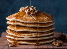 Pancake alla cannella con composta