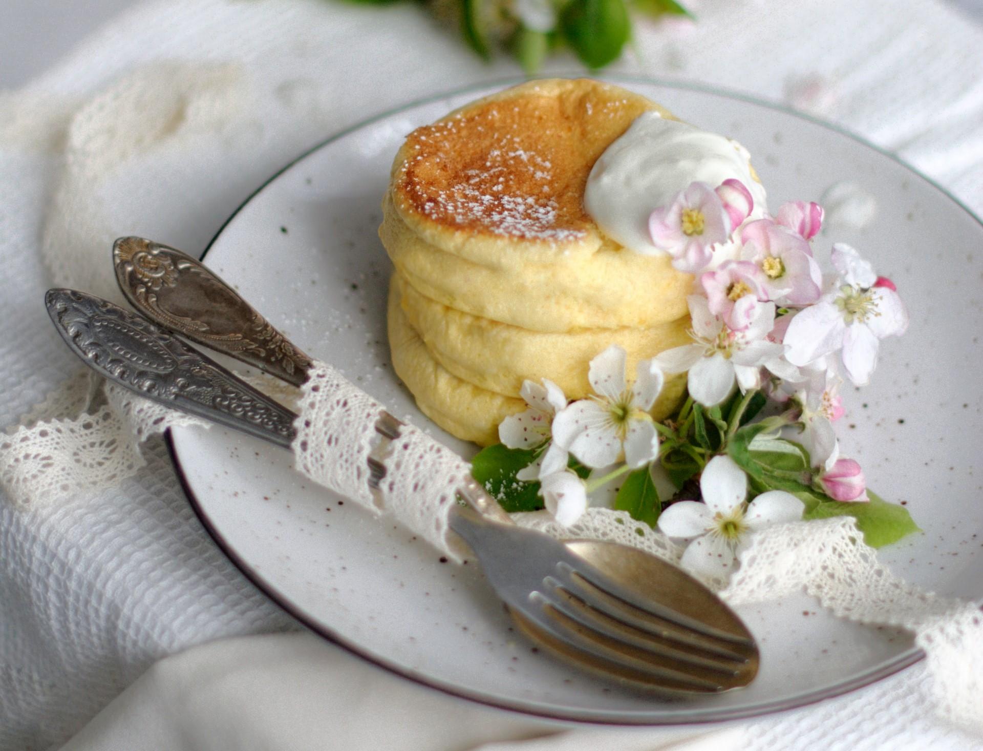 pancake nuvola ricetta