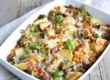 Pasta al forno ai broccoli