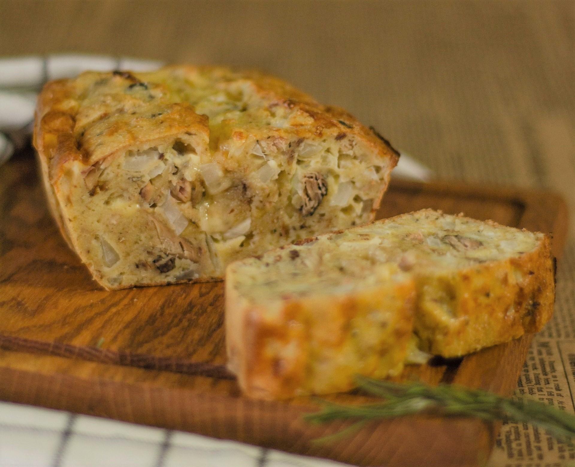 plumcake salato verdure tofu