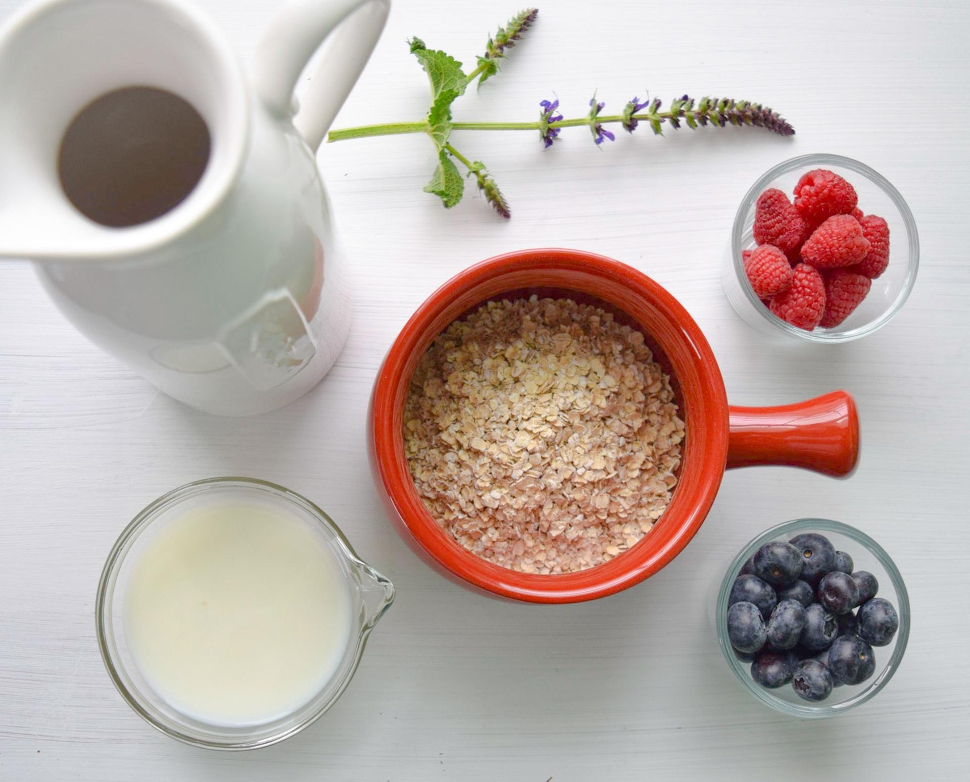 porridge senza cottura