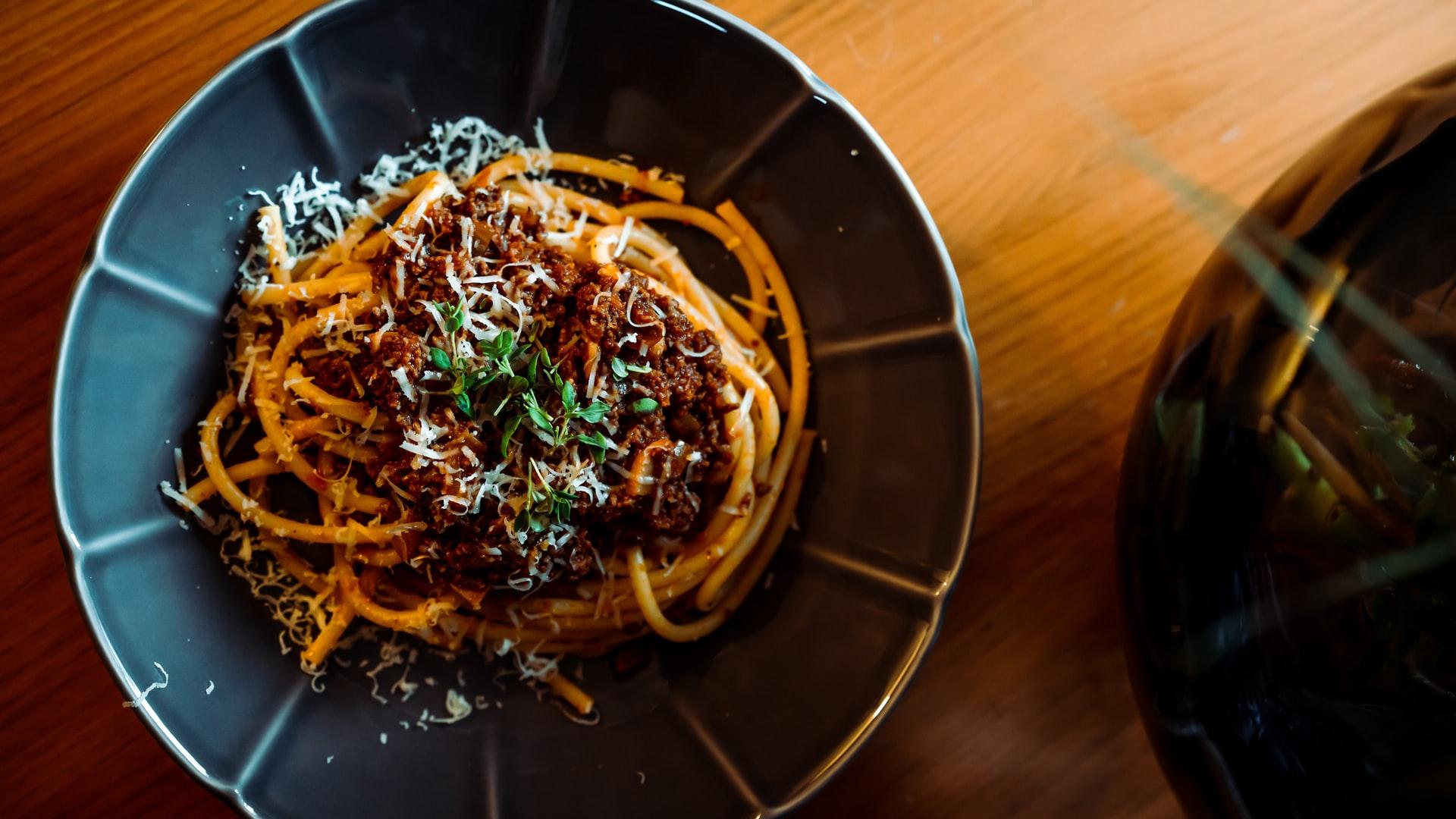 Spaghetti alla bolognese light