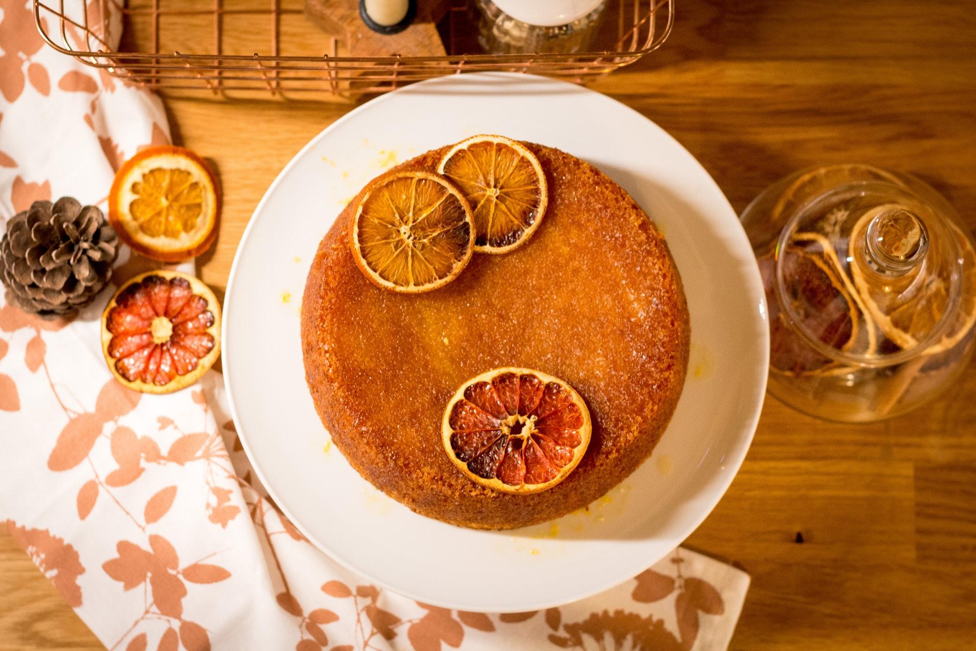 Torta all'olio d'oliva all'arancia