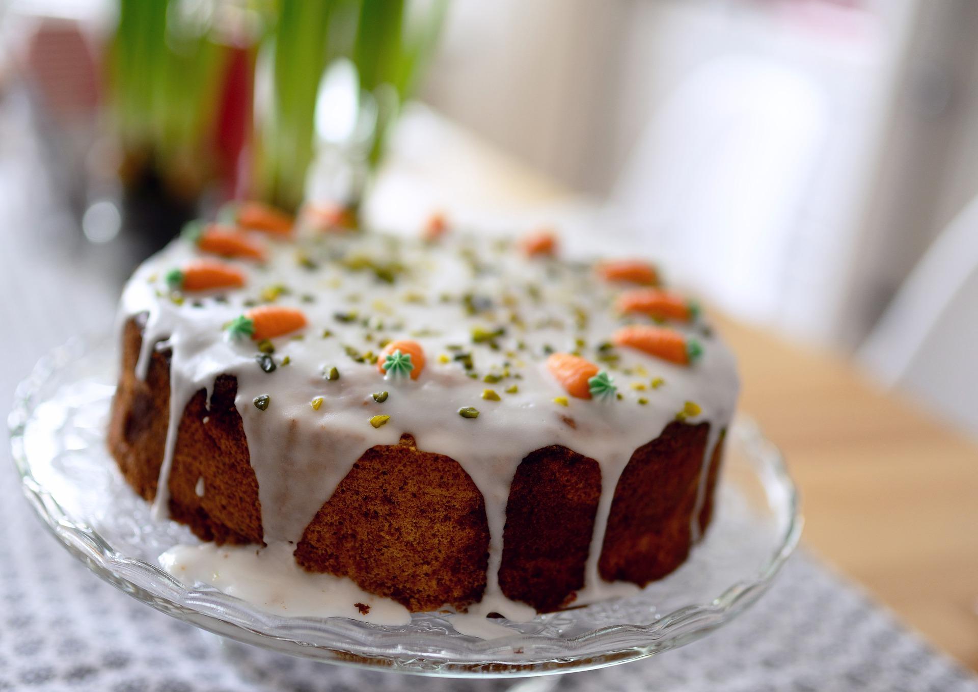 torta carote mandorle ricetta