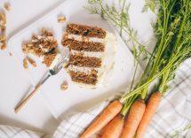 Torta di carote e cannella