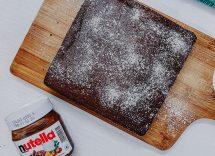 torta kinder alla nutella