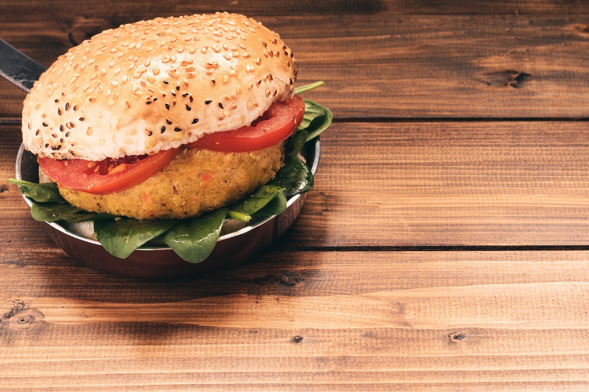 burger zucca curcuma