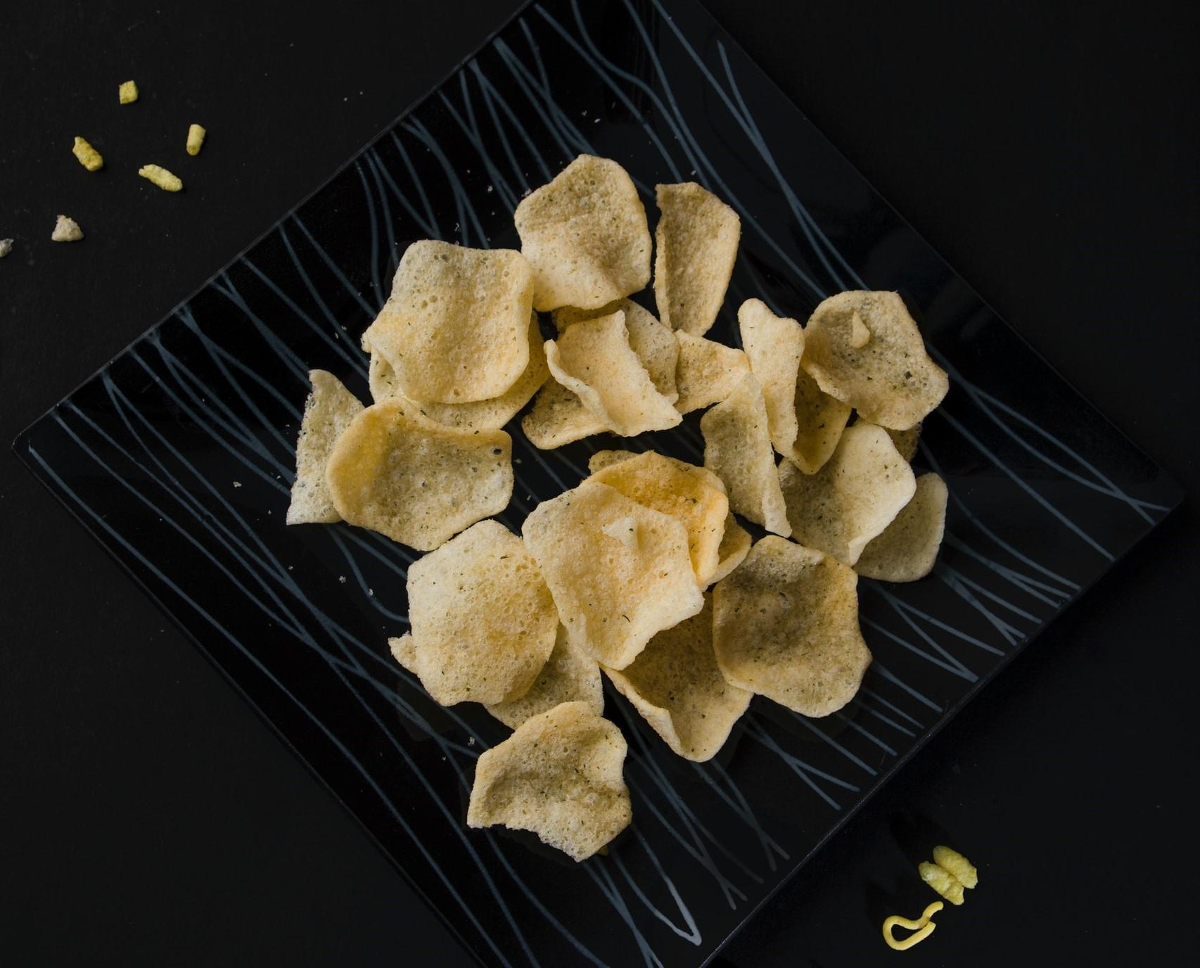 chips di riso ricetta