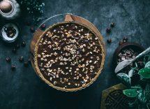crostata ricotta nocciole cioccolato