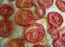 farinata pomodori crescenza