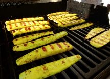 rotolo di carne zucchine grigliate