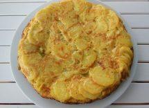 torta patate in padella