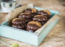 biscotti bicolore al cucchiaio