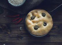focaccine gorgonzola uva