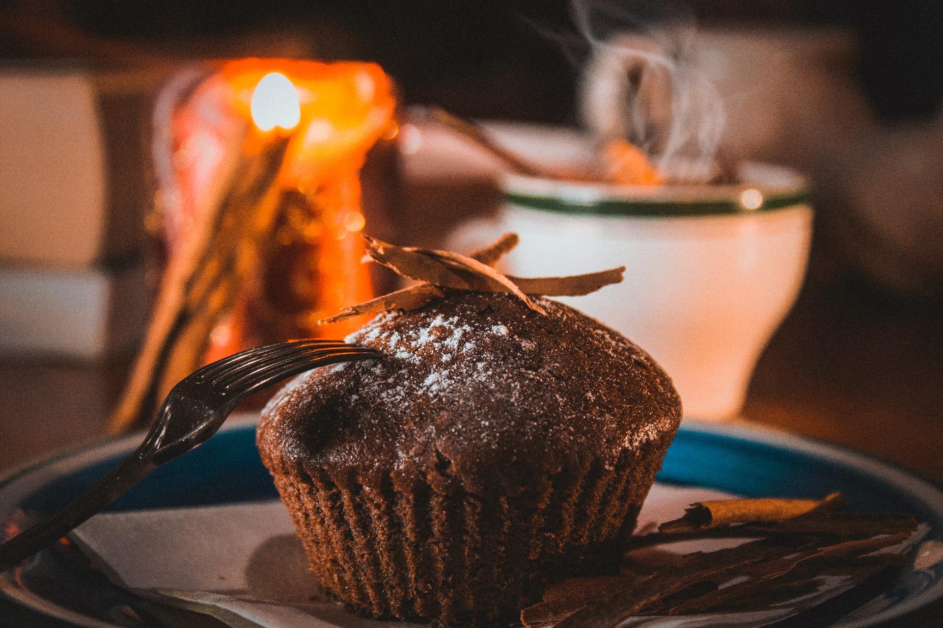 muffin alla carruba