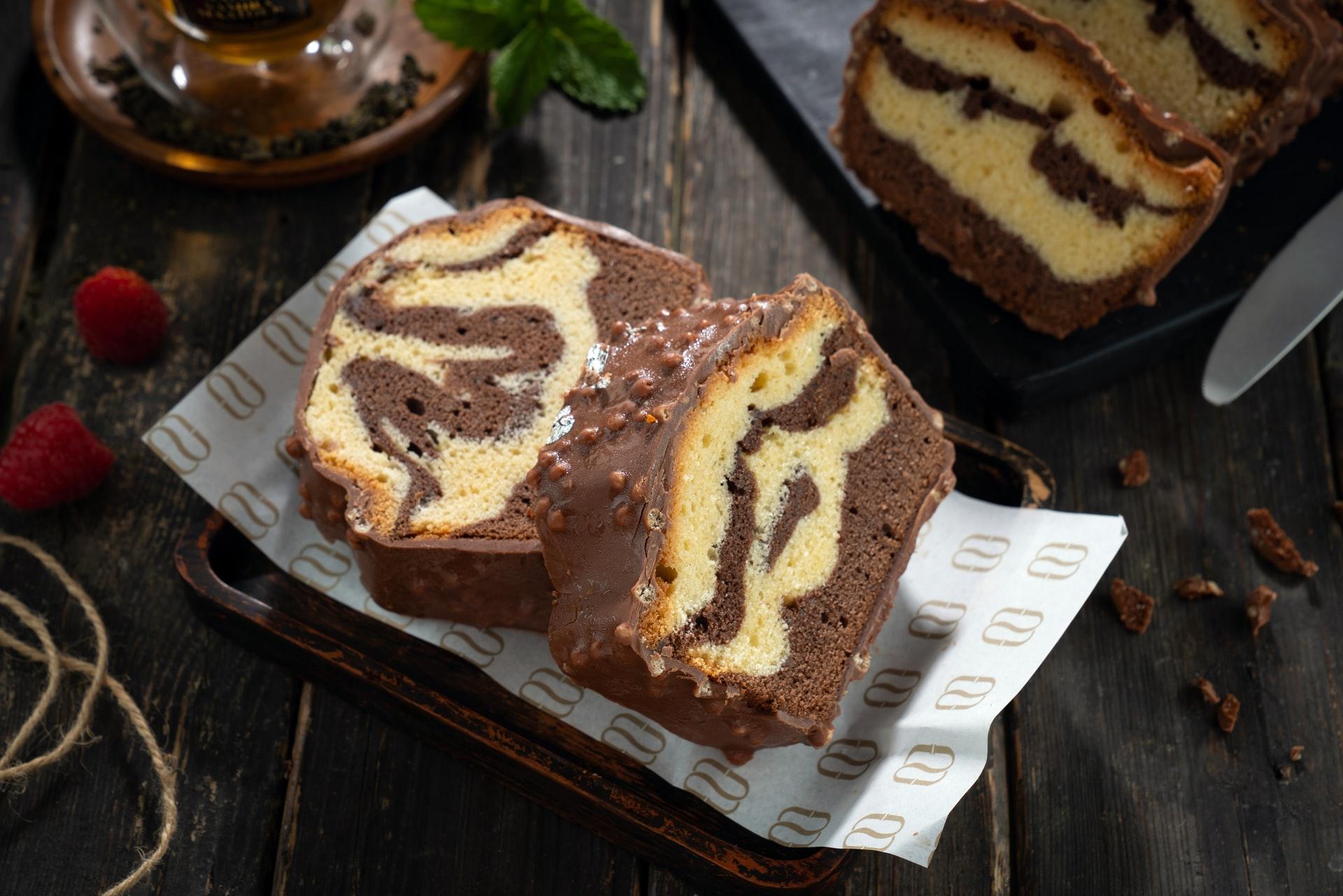 plumcake marmorizzato ricetta