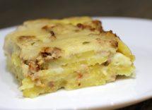 Polpettone di patate prosciutto formaggio