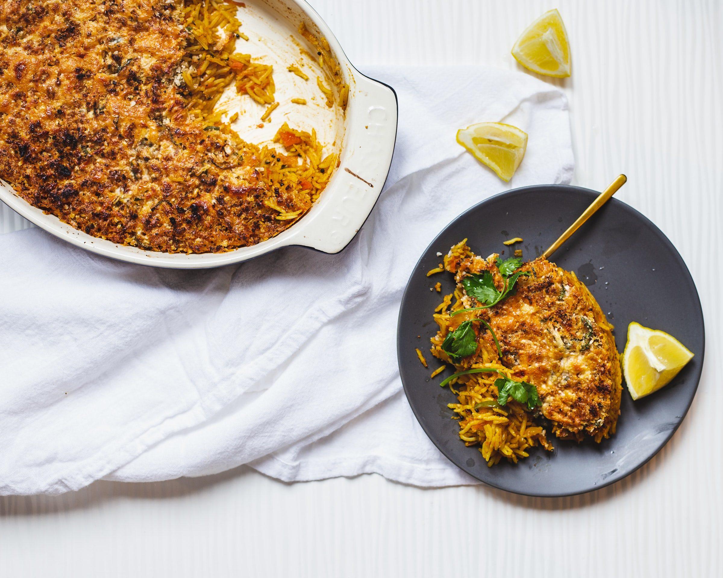 riso al forno con zucca mozzarella
