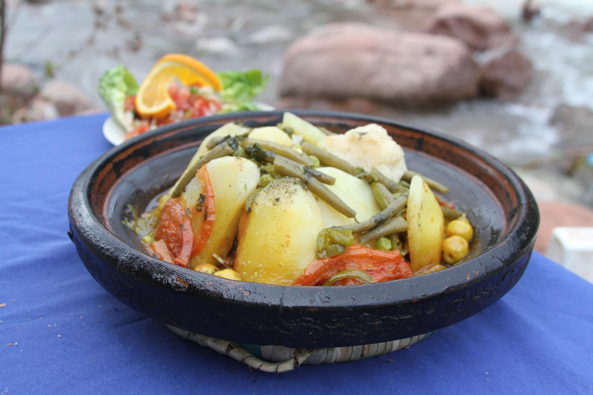 stufato di verdure alla marocchina