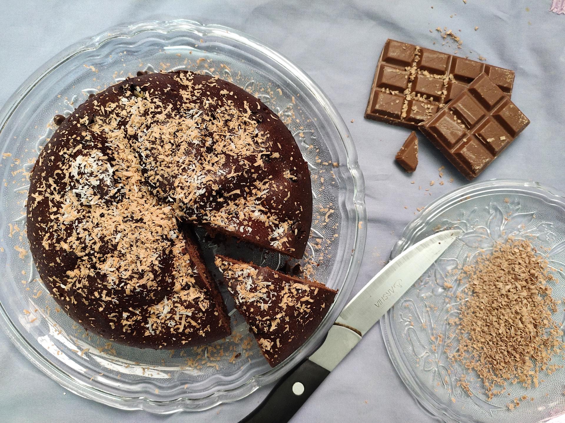 torta al cioccolato al latte